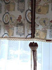 Úžitkový textil - Záclonka - 10818412_