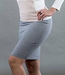 Sukne - Sivá sukňa - 10817741_