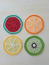 Úžitkový textil - Podkávovníčky Ovocné osvieženie - 10817622_