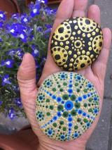 Dekorácie - Maľované kamienky - 10818494_