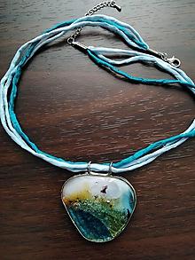 Náhrdelníky - Prázdniny pri mori- náhrdelník - 10817919_
