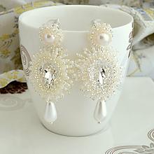 Náušnice - Bright pearl - 10818225_