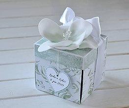 Papiernictvo - Svadobný exploding box - 10819057_