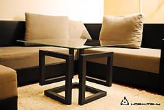 Nábytok - Konferenčný stolík Infinity Cube - 10817575_