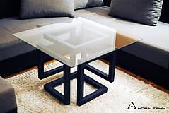 Nábytok - Konferenčný stolík Infinity Cube - 10817582_