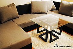 Nábytok - Konferenčný stolík Infinity Cube - 10817583_