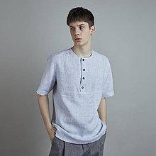 Oblečenie - ľanová košeľa FIN - 10818926_