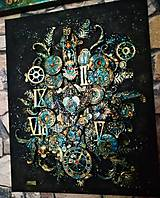 """Obrazy - Steampubk obraz """"BLACK MAGIC"""" - 10818636_"""