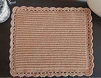Handmade háčkované prestieranie