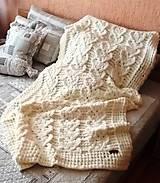 Jemnučká a ľahká detská deka z priadze alize puffy