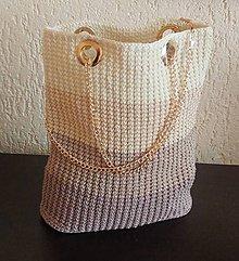 Kabelky - Handmade háčkovaná kabelka - 10817427_