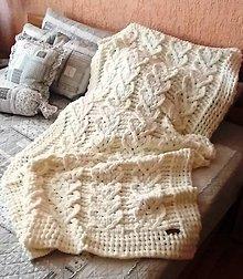 Textil - Jemnučká a ľahká detská deka z priadze alize puffy - 10818397_