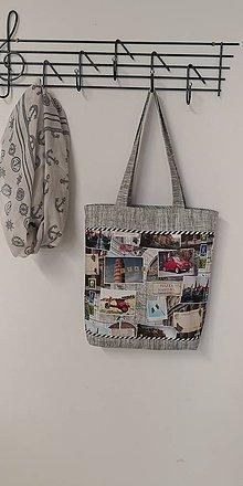 Nákupné tašky - Plátenka Pozdrav z Talianska - 10818776_
