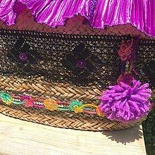 Kabelky - Originálna letná košíková kabelka do ruky - 10817657_