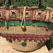 Kabelky - Originálna letná košíková kabelka do ruky - 10817792_