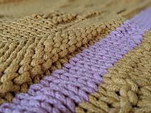 Úžitkový textil - Unikátny koberček - Sunset - 10818139_