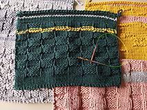 Úžitkový textil - Unikátny koberček - Forest - 10818294_