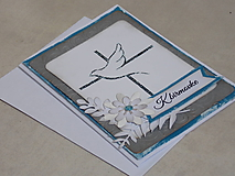 Papiernictvo - ... pohľadnica s holubicou... - 10817510_