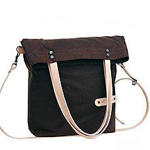 Veľké tašky - Dámská taška MARILYN DARK BROWN - 10818540_