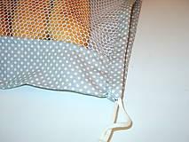 Úžitkový textil - 2 vrecka na nákup potravín - 10817538_