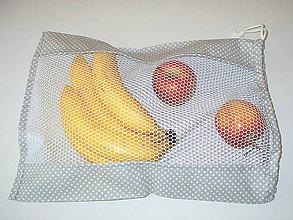 Úžitkový textil - eko vrecko na nákup potravín - 10817507_