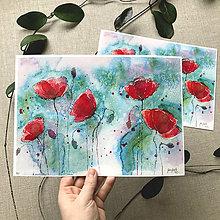 Obrazy - Maky 2018, (ART PRINT) akvarel - 10817292_
