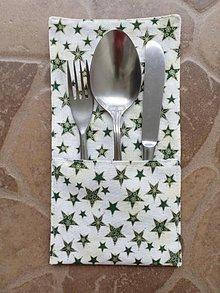 Úžitkový textil - Priborník hviezdičkový - 10821257_