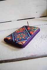 Peňaženky - Mosaic - minipeňaženka na zips - 10820284_