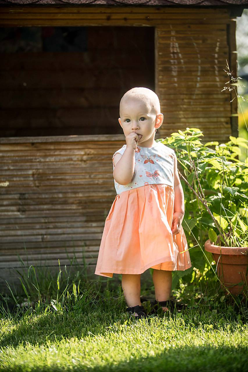 Detské oblečenie - Letné detské šaty - 10821822_