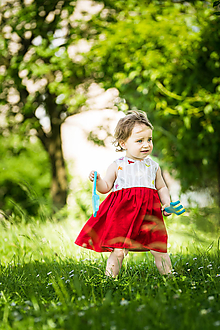 Detské oblečenie - Letné detské šaty - 10821783_