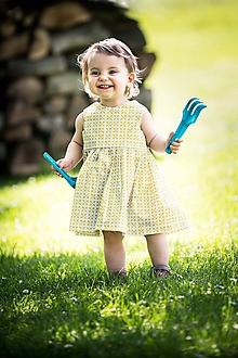 Detské oblečenie - Letné detské šaty - 10821803_