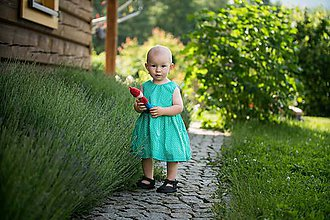 Detské oblečenie - Letné detské šaty - 10821806_