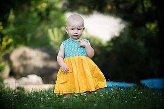 Detské oblečenie - Letné detské šaty - 10821845_