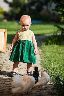 Detské oblečenie - Letné detské šaty - 10821850_