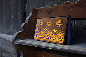 Kabelky - DETVA drevená kabelka - 10820836_