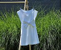 Detské oblečenie - Dievčenské letné šaty Nica - 10820657_