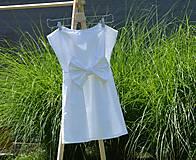 Detské oblečenie - Dievčenské letné šaty Nica - 10820665_