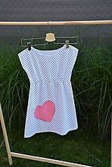 Detské oblečenie - Dievčenské letné šaty Mile - 10820683_