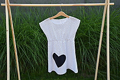 Detské oblečenie - Dievčenské letné šaty Mile - 10820743_