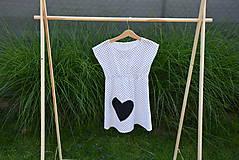 Detské oblečenie - Dievčenské letné šaty Mile - 10820744_
