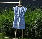 Detské oblečenie - Dievčenské letné šaty Mile - 10820803_