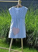 Detské oblečenie - Dievčenské letné šaty Mile - 10820806_