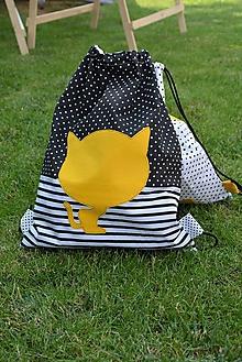 Batohy - Batoh/backpack mačka - 10819849_