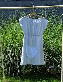 Detské oblečenie - Dievčenské letné šaty Mile - 10820887_