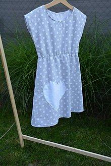 Detské oblečenie - Dievčenské letné šaty Mile - 10820948_