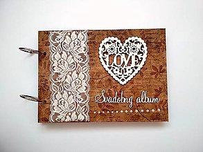 Papiernictvo - Fotoalbum folk svadobný* kniha hostí * album A5 - 10820663_
