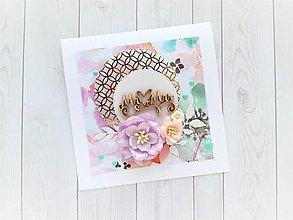 Papiernictvo - Svadobná pohľadnica - 10819216_