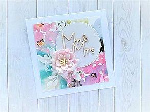Papiernictvo - Svadobná pohľadnica - 10819217_