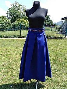 Sukne - Skládaná suknička - 10819241_