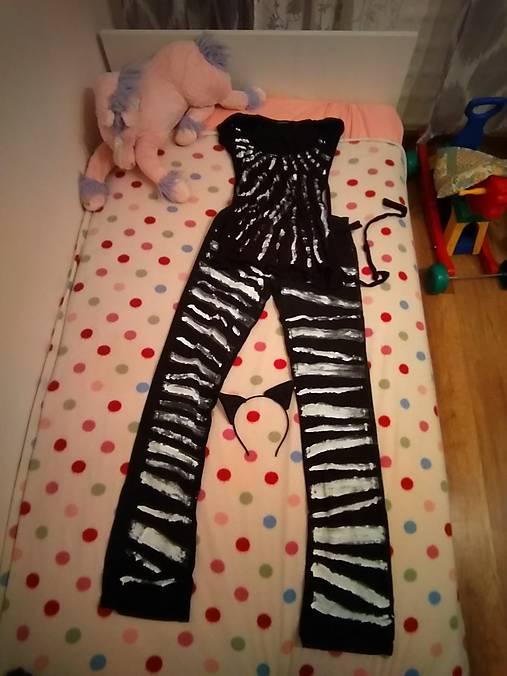 Karnevalový kostým zebra😆.....